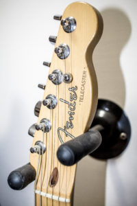 Telecaster Fender peghead