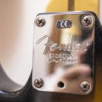Telecaster Fender neckplate