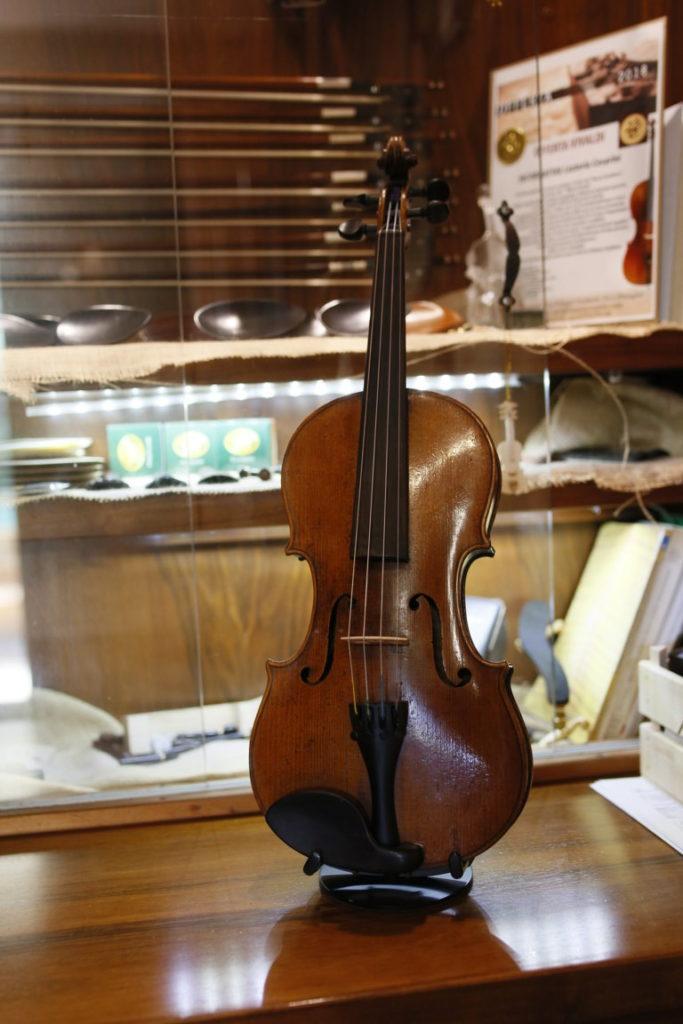 violino Tavola armonica