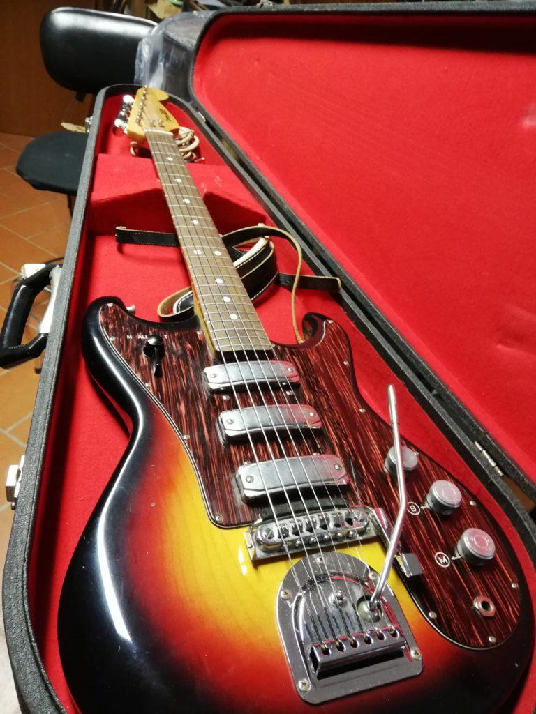 Zerosette solid body, chitarra elettrica '60-'70