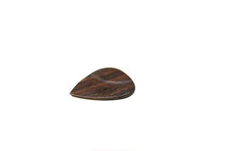 Wooden rosewood style picks handmade, back
