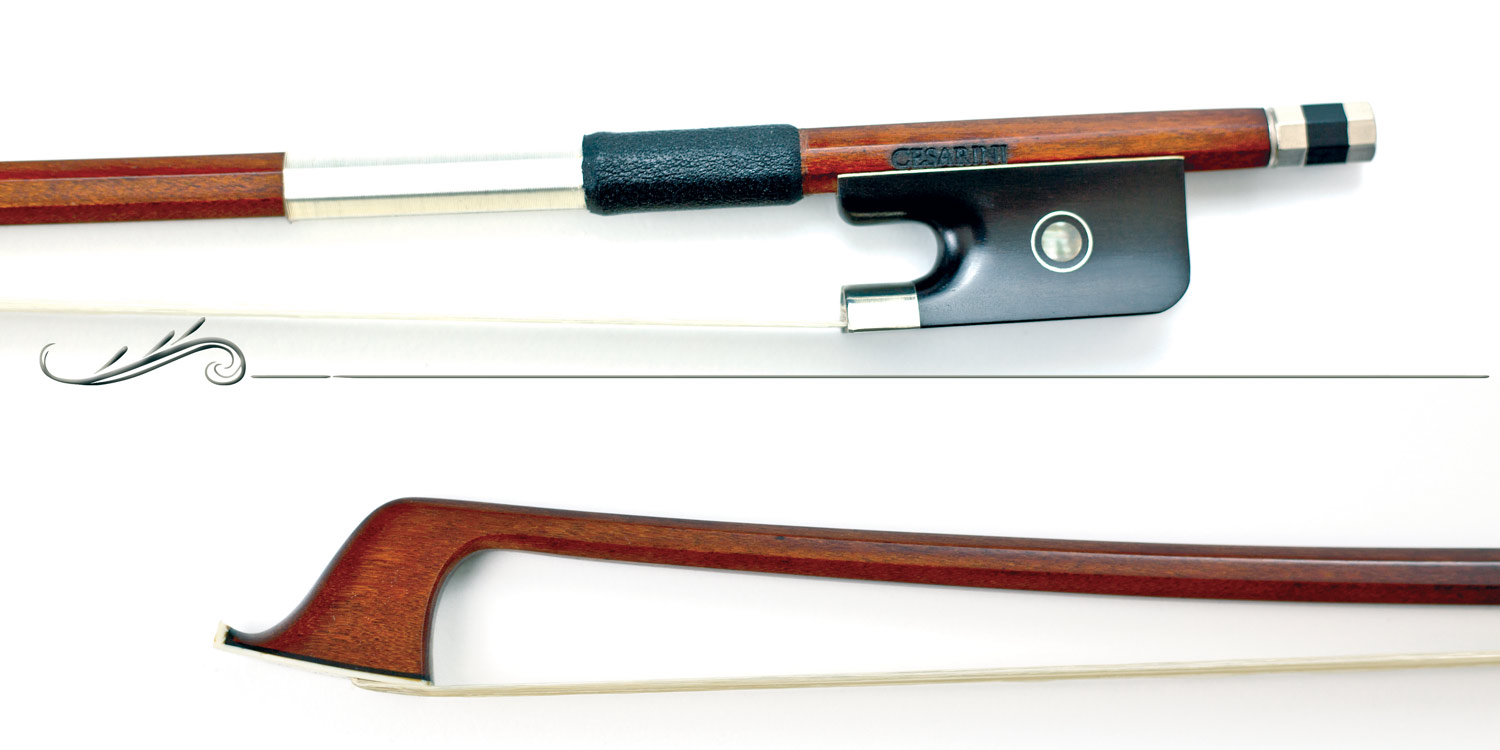 (VLCP51) Pernambuco cello bow Cesarini Selected