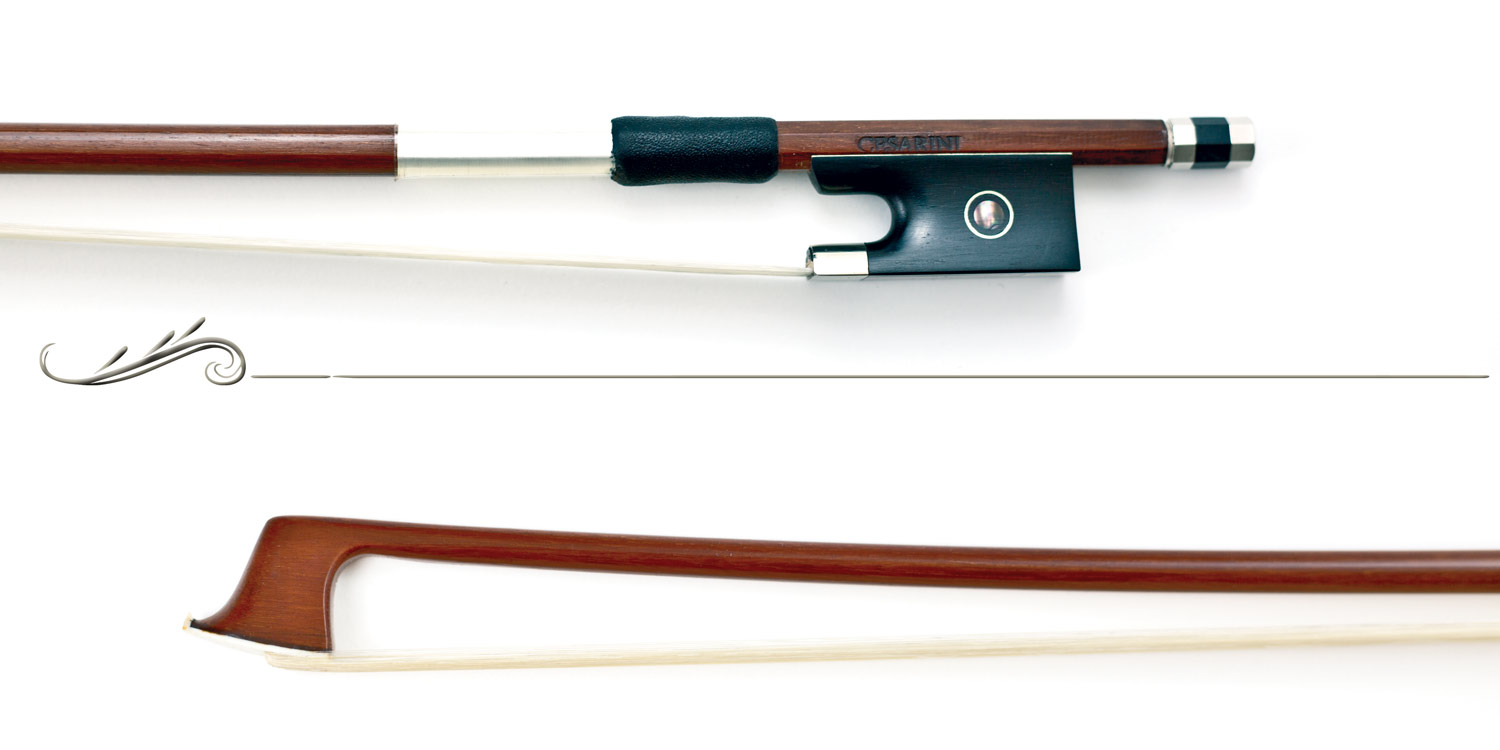 (VCB33) Violin bow made with sappanwood  Cesarini Selected