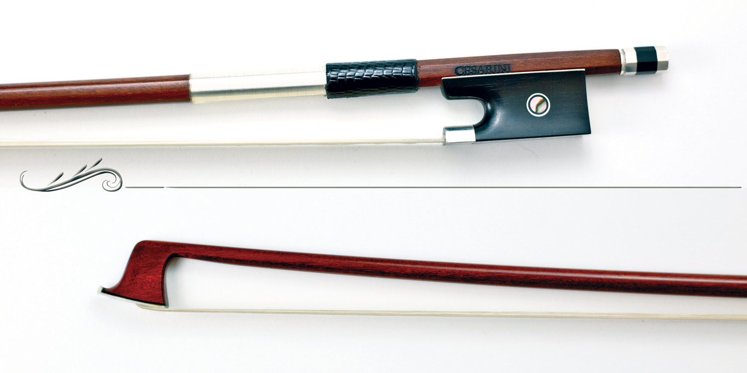 (AVCP30) Extra violin bow in pernambuco Cesarini Selected