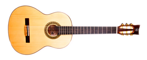 classical guitar Palermo model - details