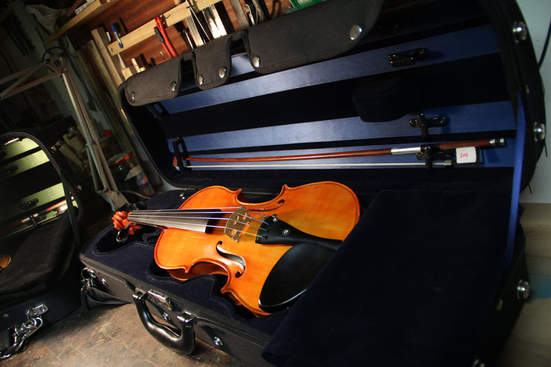 studio violin case