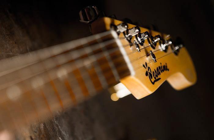 costruzione chitarra personalizzata