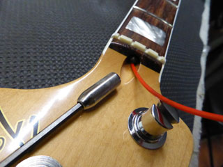 Truss rod setup