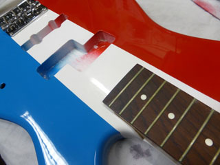 Flag french finish bass