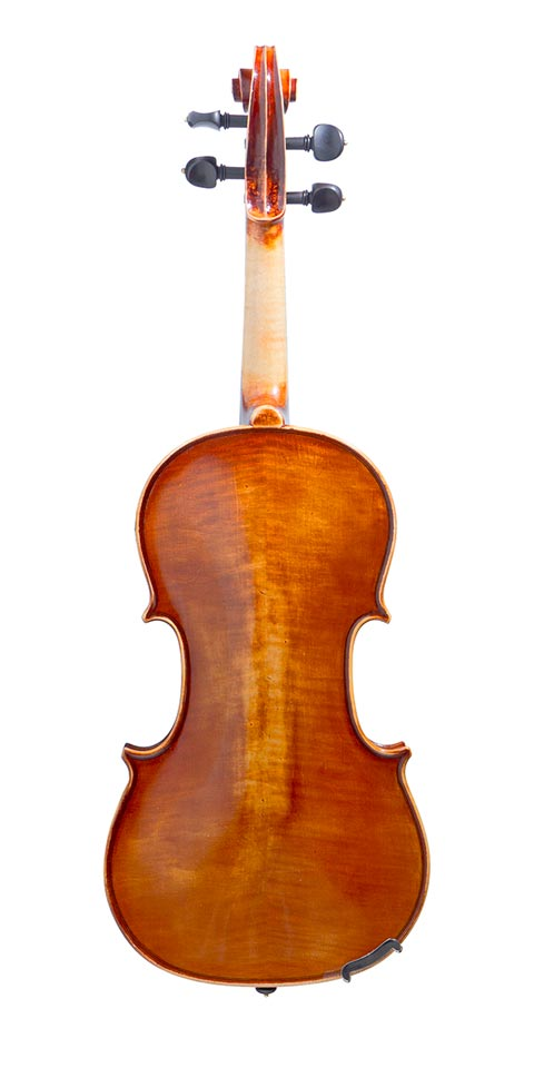 handmade violin by italian luthier