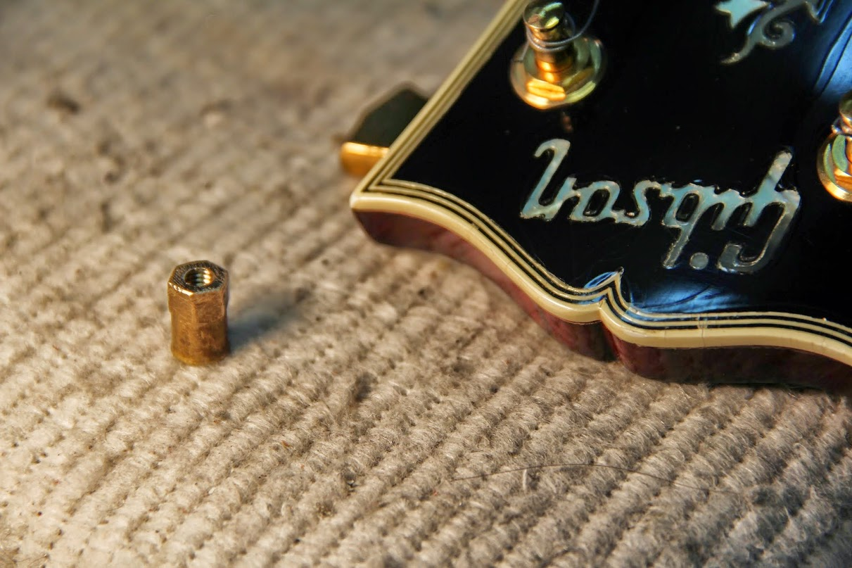 Gibson truss rod,broken