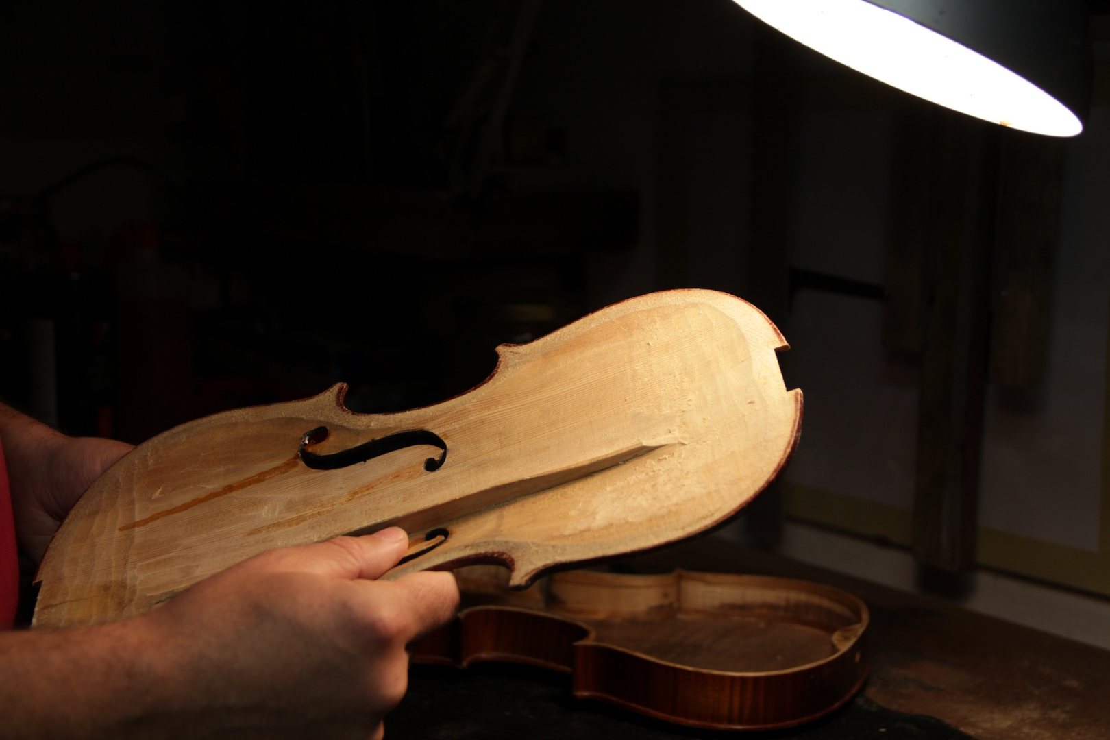 violino aperto