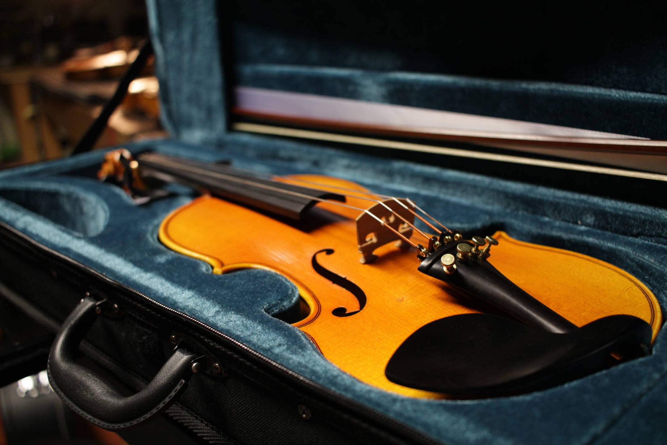 Violino 1/2, da cambiare con la prossima misura 3/4
