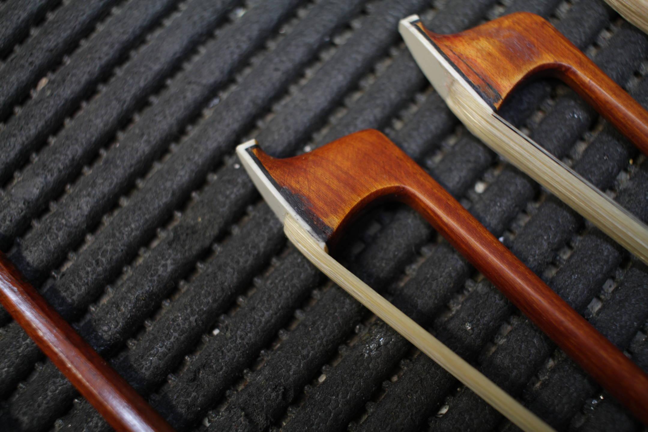 Archetti violino da restaurare