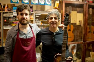 Valter Vincenti and luthier Federico Cesarini