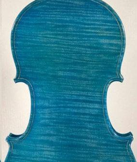 violino blu