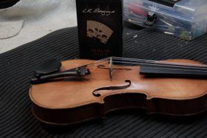 amplificazione violino