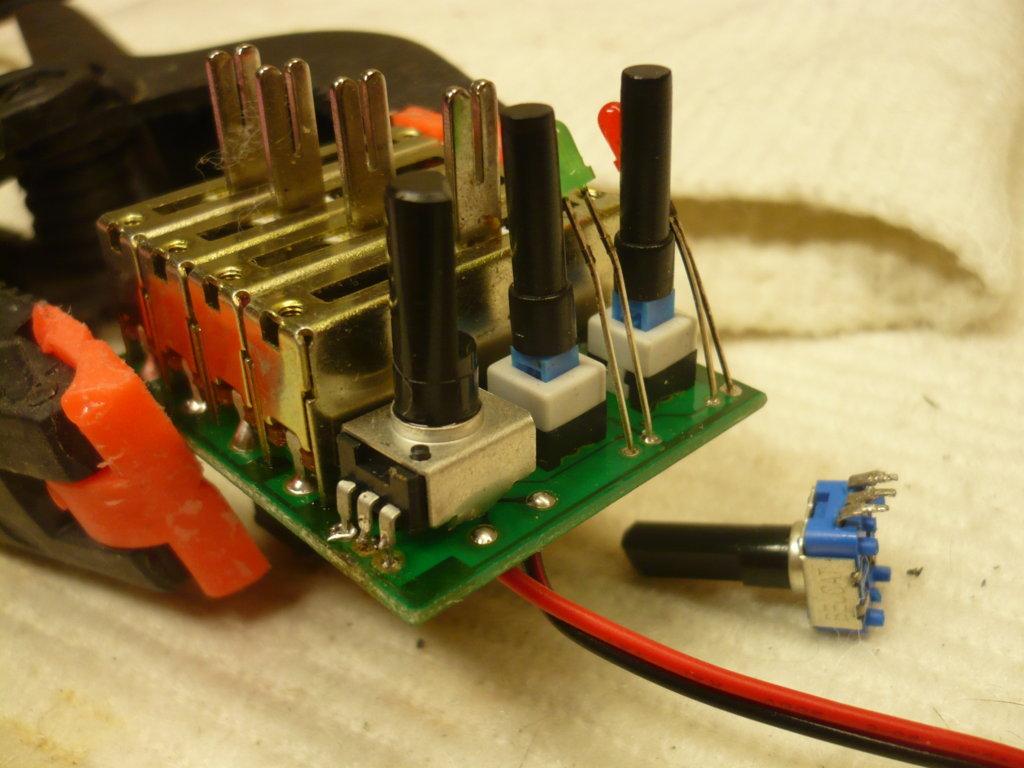 circuito preamplificatore onboard