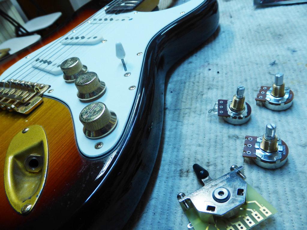 circuito chitarra da rifare