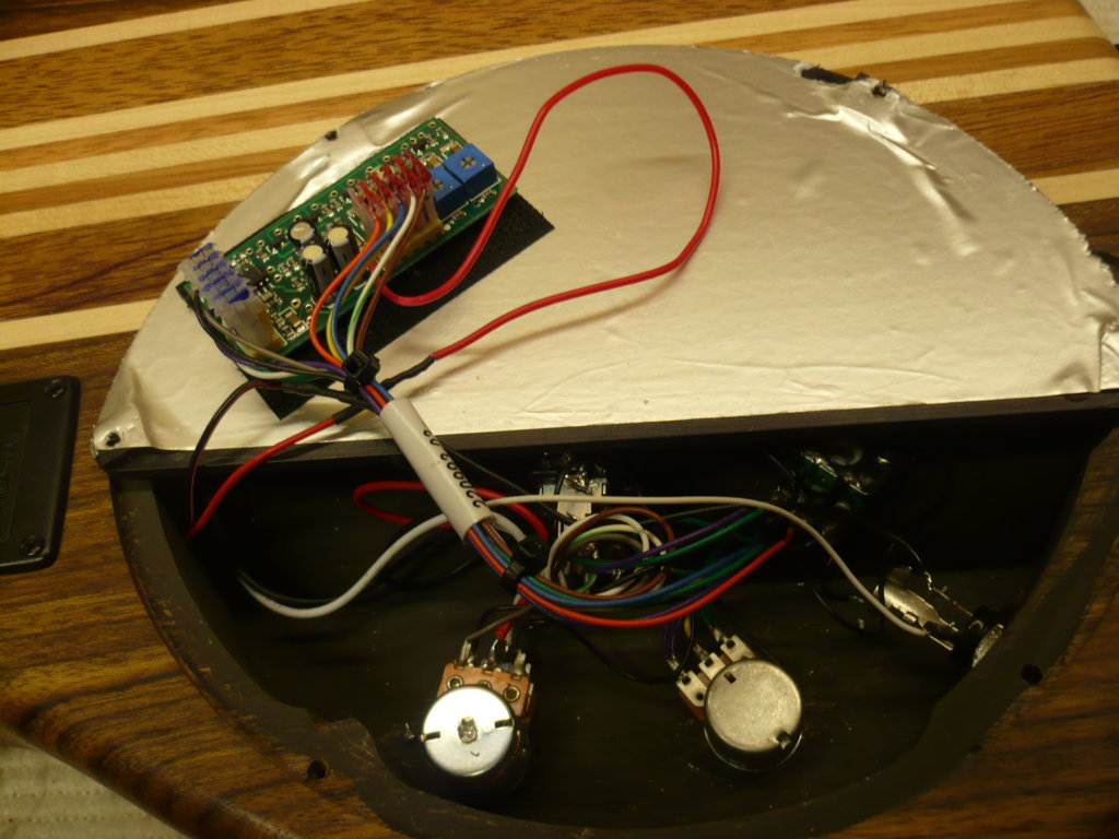 circuito attivo Seymour Duncan per Music Man