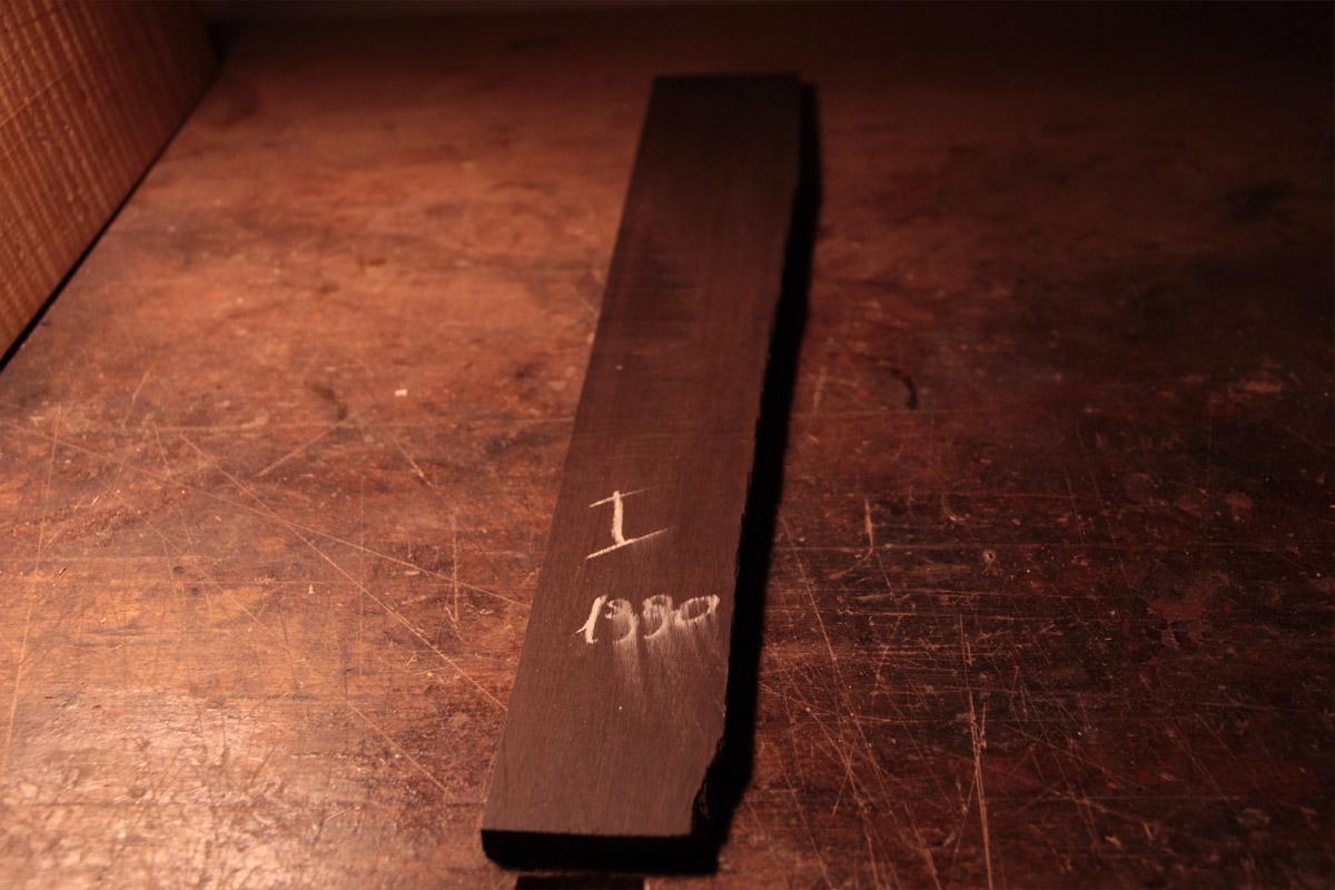 Ebano, per tastiera, 1990