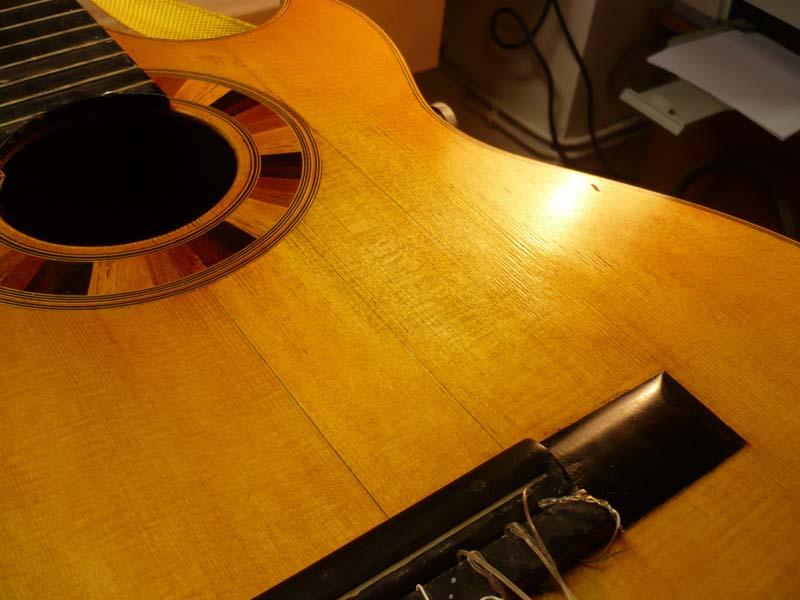 Classical Guitar restoration