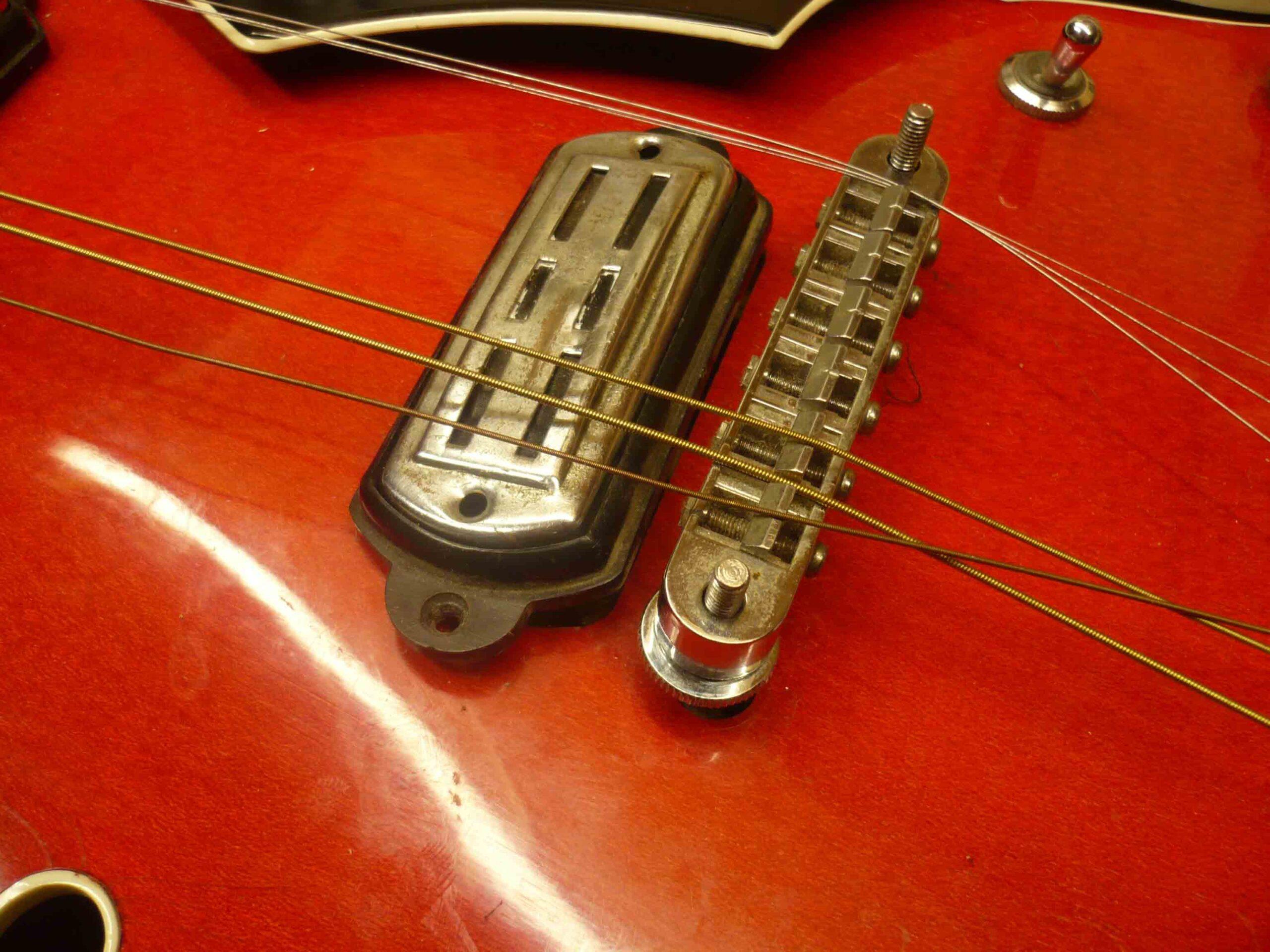 Crucianelli Elite, chitarra vintage italiana