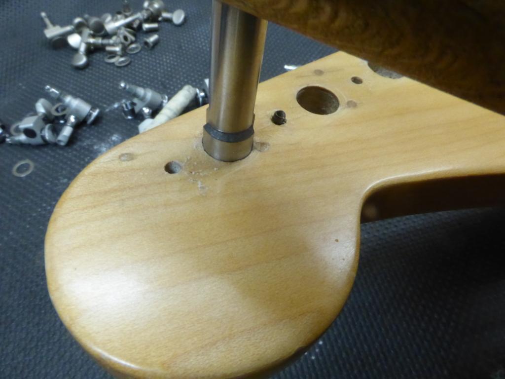 Cambio meccaniche su chitarra