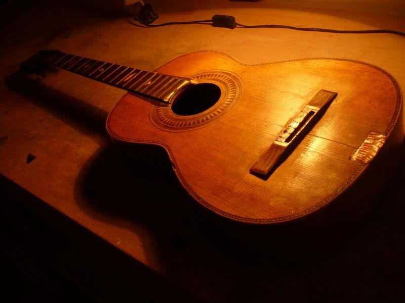 Salvador Ibanez guitar