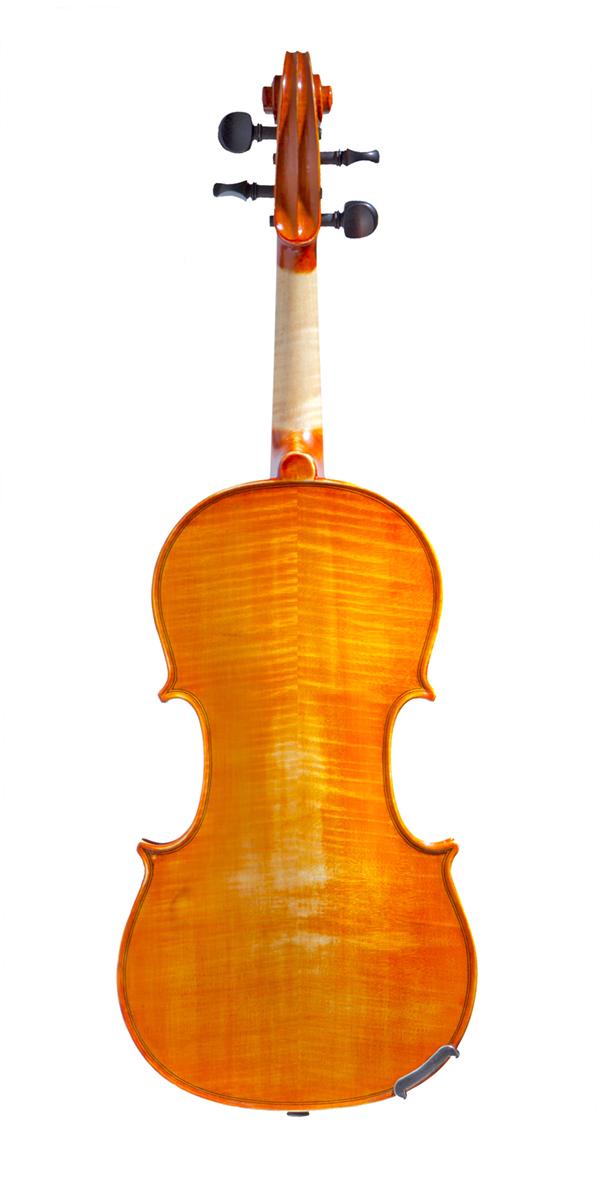 Violino artigianale Cesarini, acero marezzato