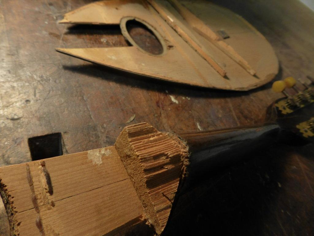 Mandolin restoration