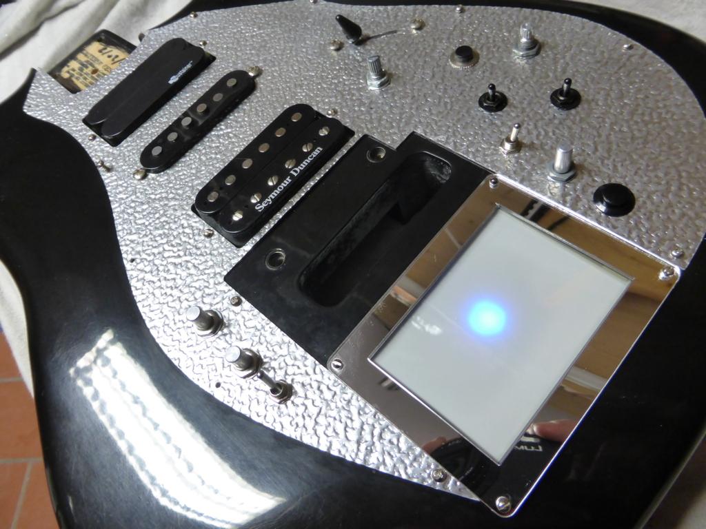 Realizzazione C-Kaoss chitarra