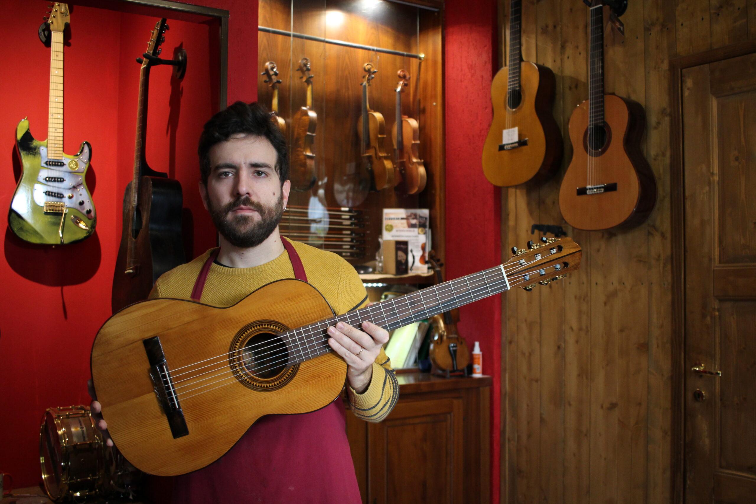 Telesforo guitar and Federico Cesarini