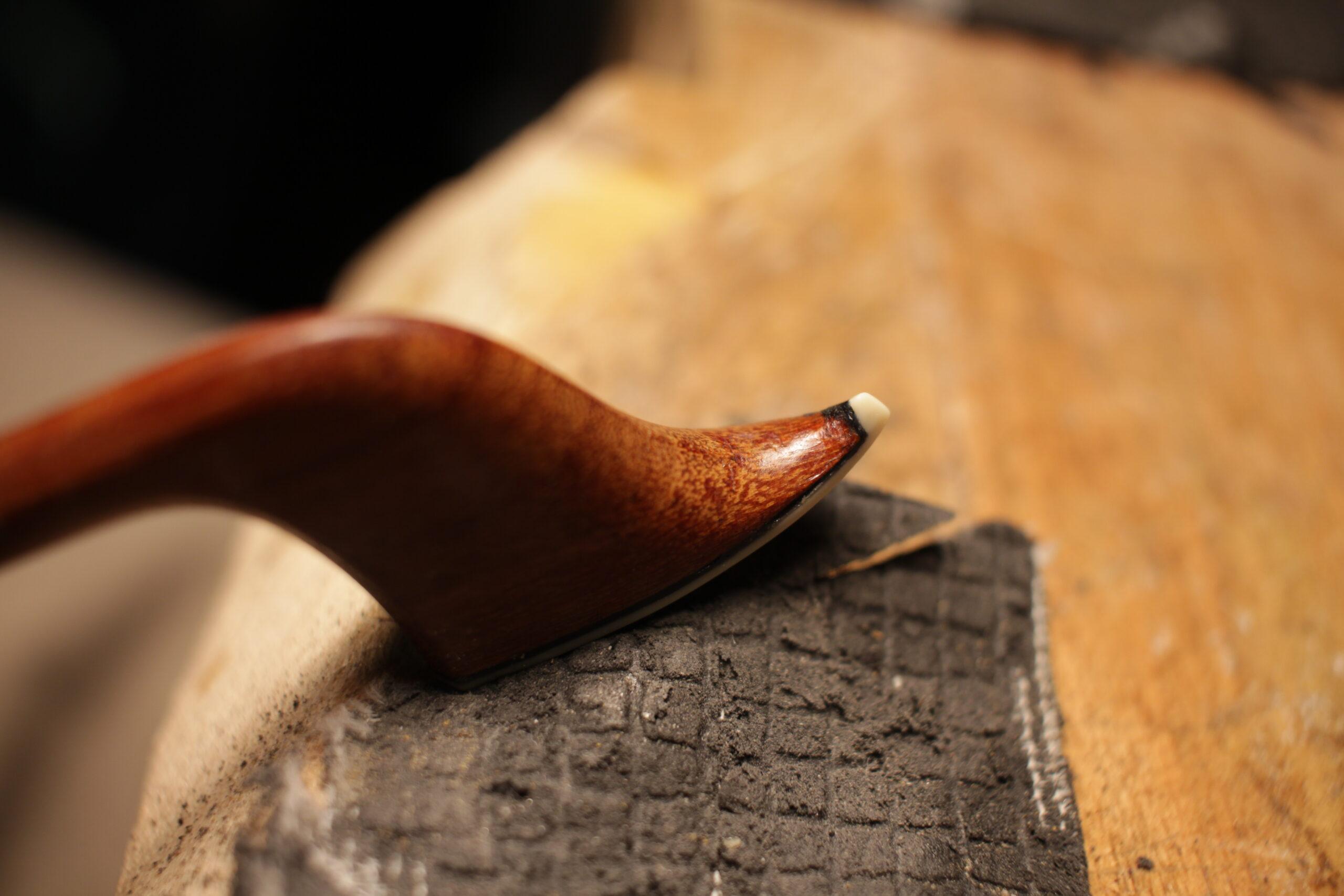 Violin Bow's tip restoration 2