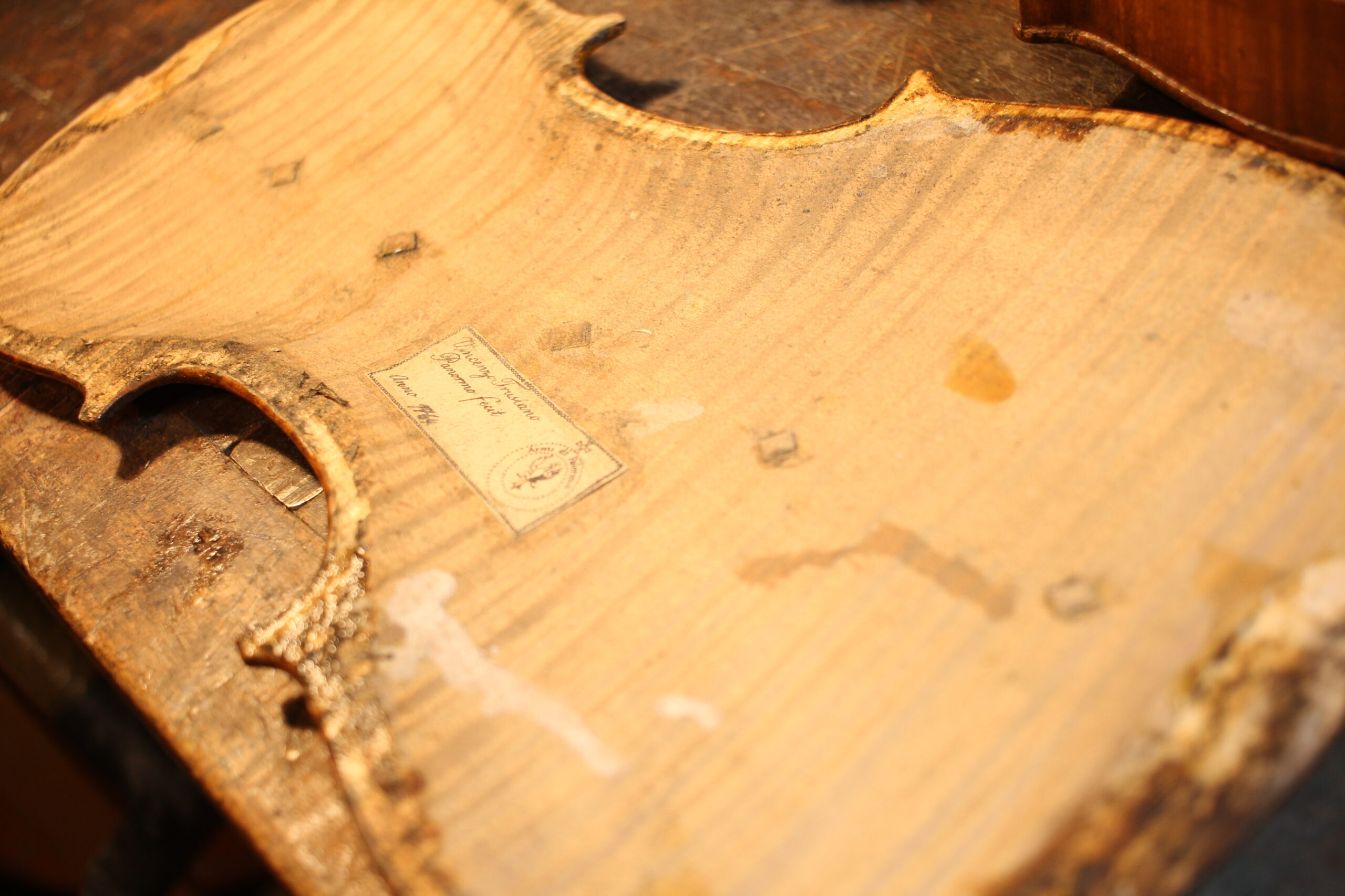 Violin Panormo