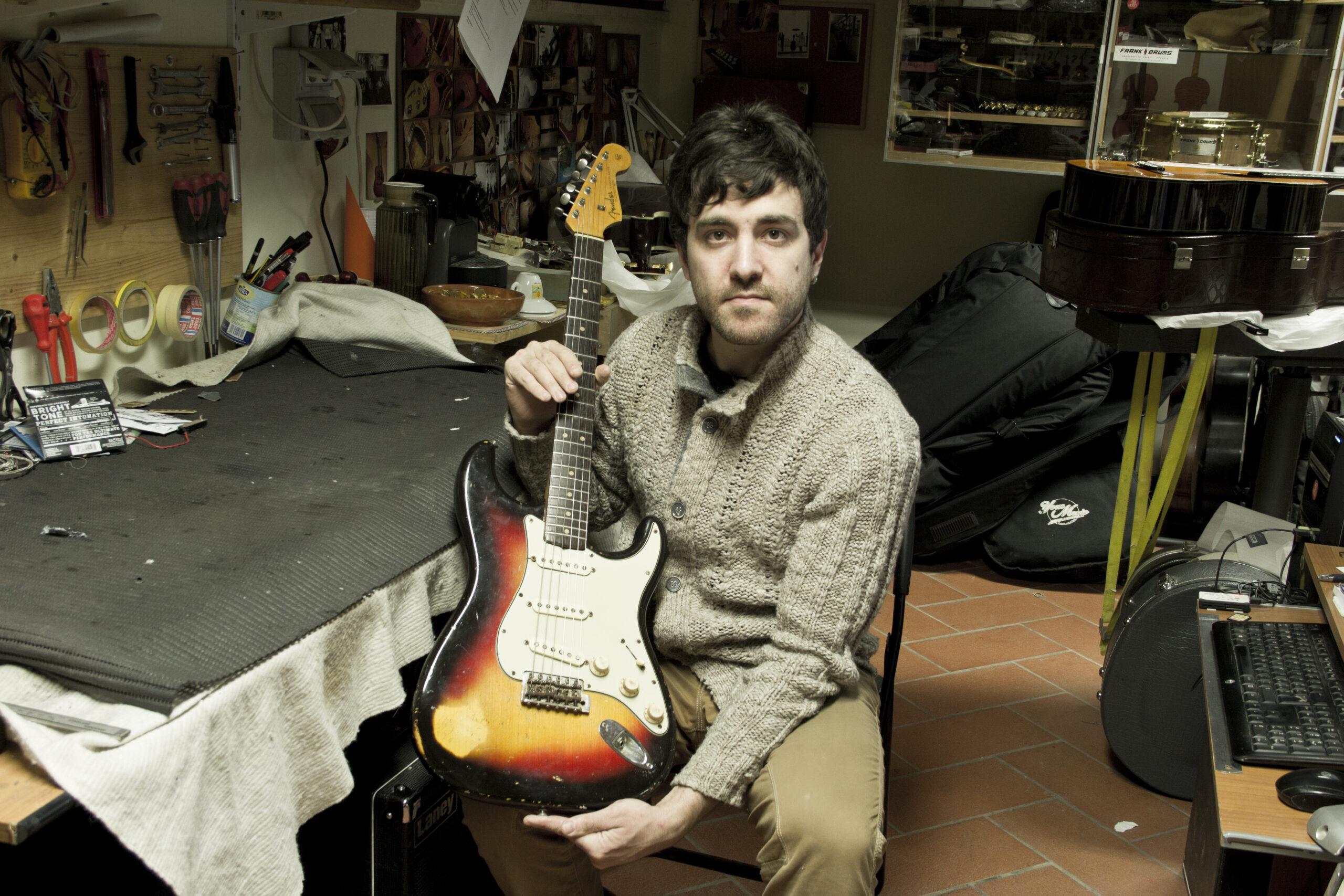 Stratocaster Fender 69 reissue