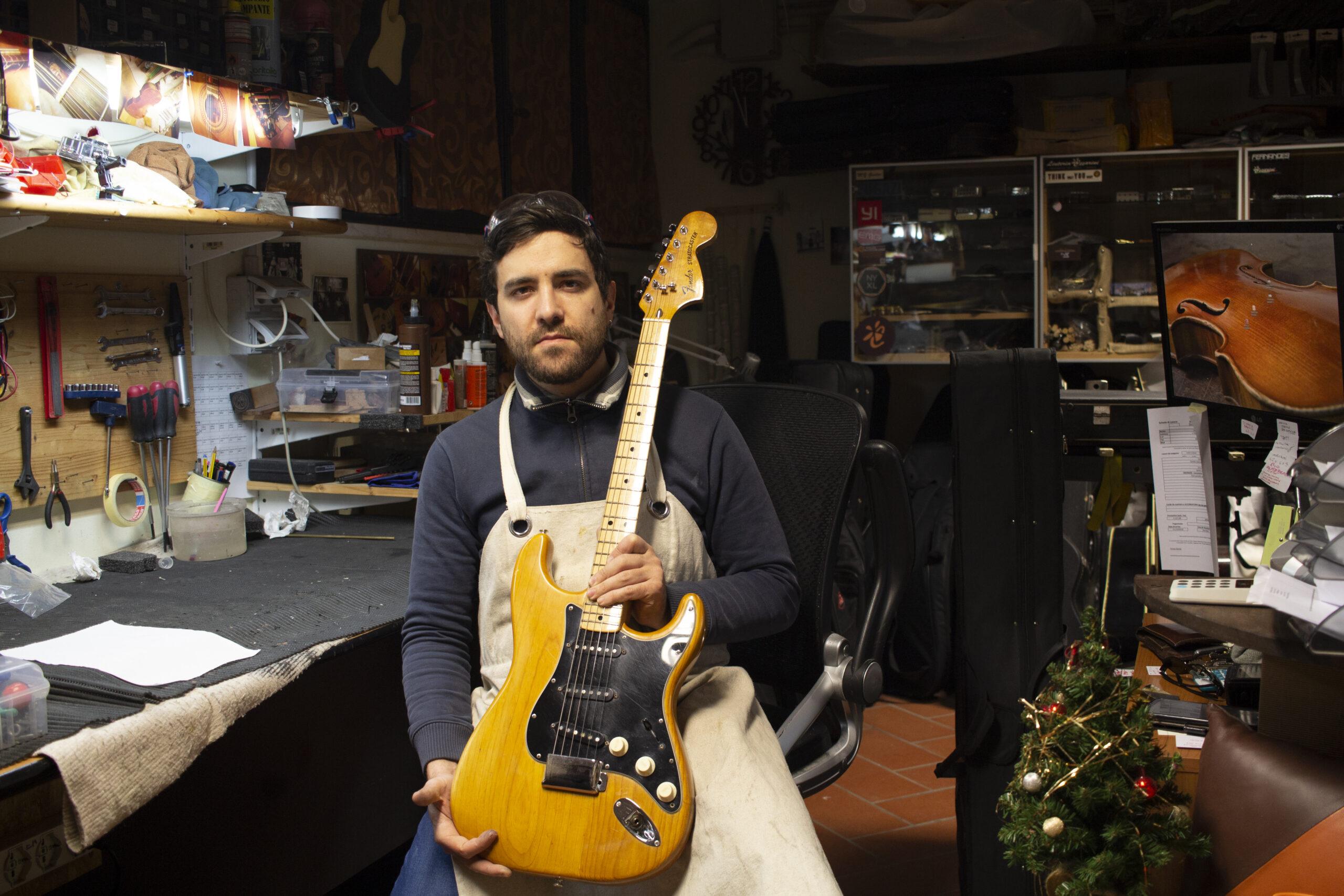 Fender Stratocaster 1976, vintage